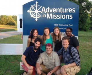 Aaron Moyer and his mission team