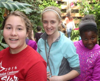 School outing to Powell Gardens