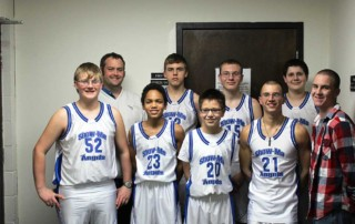 Boy's basketball team 2014