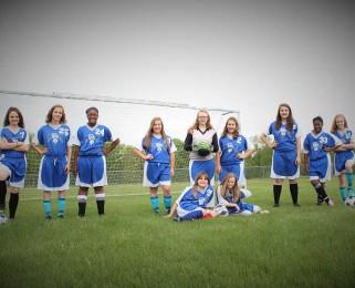 girls soccer team 2016